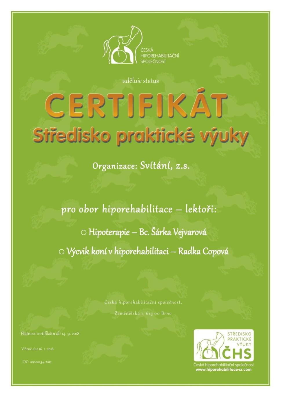 Svítání-Certifikat_SPV_2018
